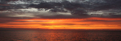 Take a sunset tour on the Pamlico Sound in Cape Hatteras