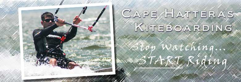 Learn to kiteboard at Cape Hatteras Kiteboarding in the Outer Banks of North Carolina
