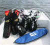 Plenty of room to carry all the gear you will need during your kiteboarding lesson